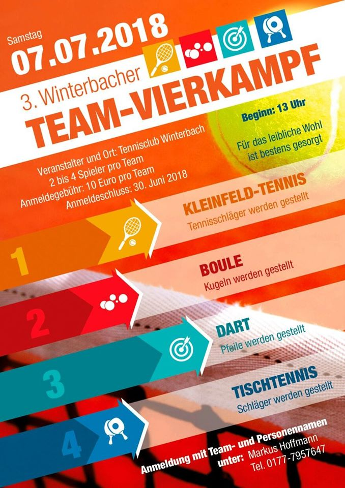3. Winterbacher Team-Vierkampf