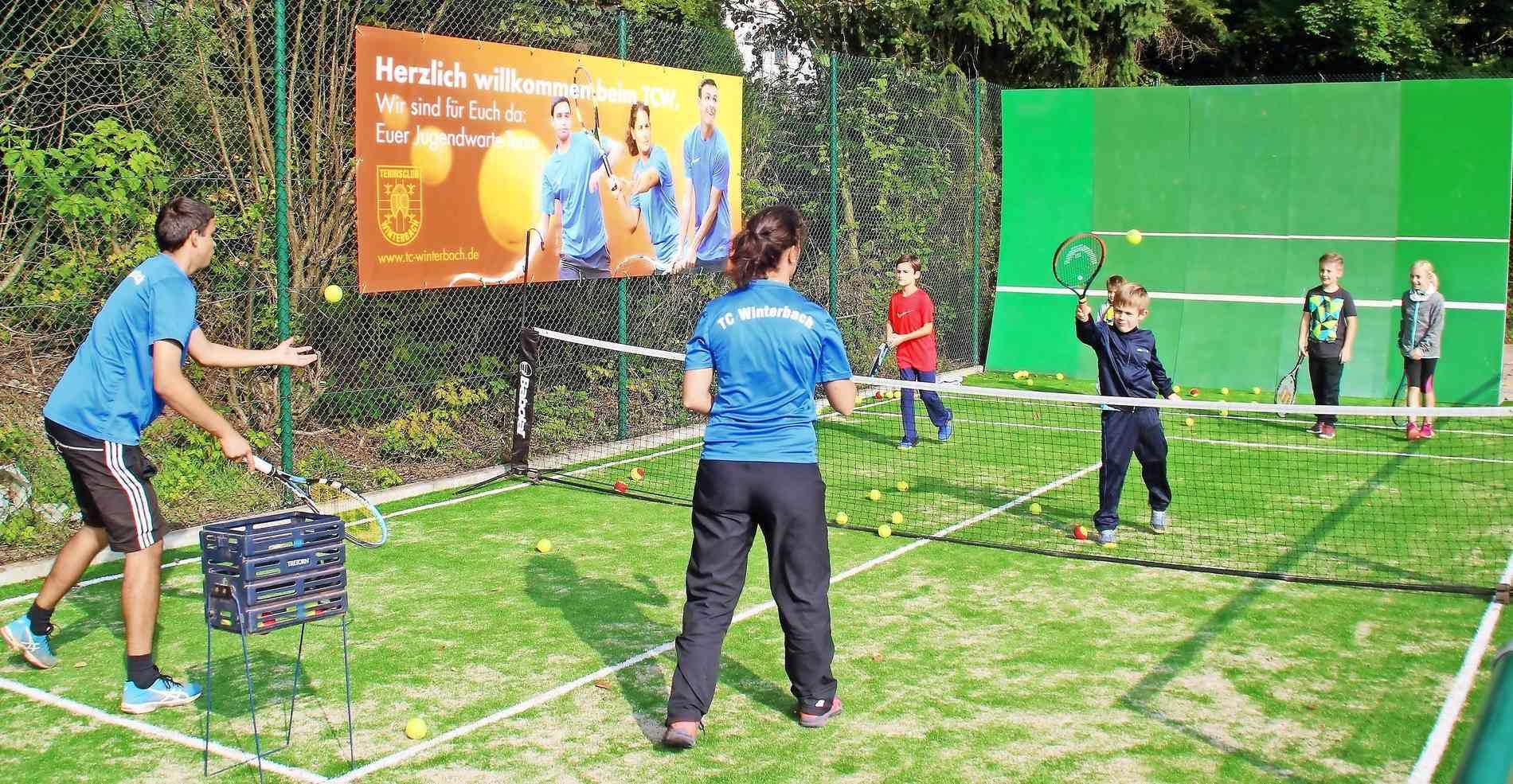 Neues Tennisminispielfeld in Winterbach